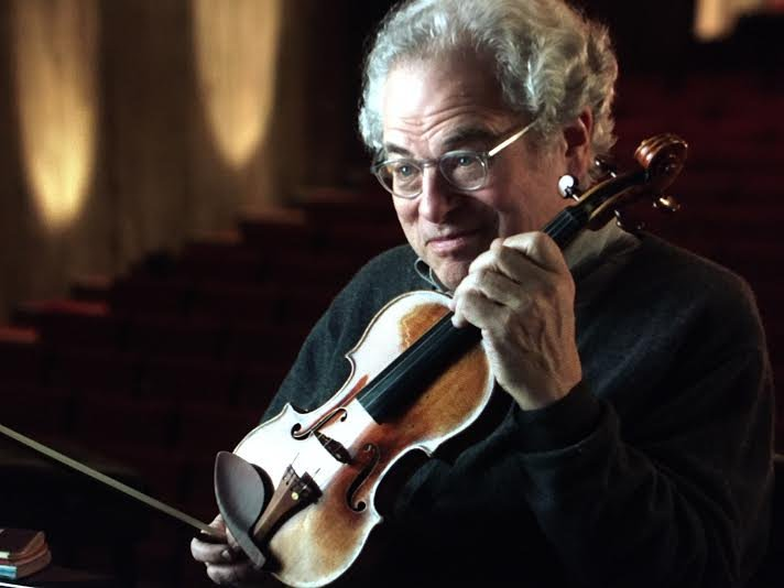 Conductor and violinist Itzhak Perlman (Photo from Itzhak Perlman's website: http://www.itzhakperlman.com/)