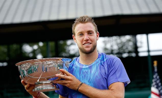 Jack Sock captured his first professional title in Houston (Photo from ATP)