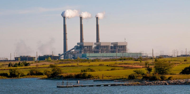 Jeffrey Energy Center in St. Marys remains closed following the deaths of two employees on Sunday. (Photo from Westar Energy)