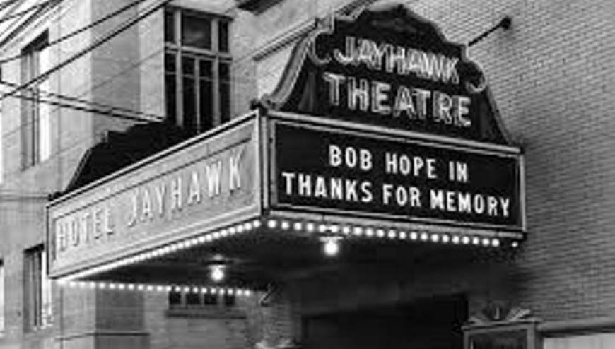 The Jayhawk Theatre in downtown Topeka