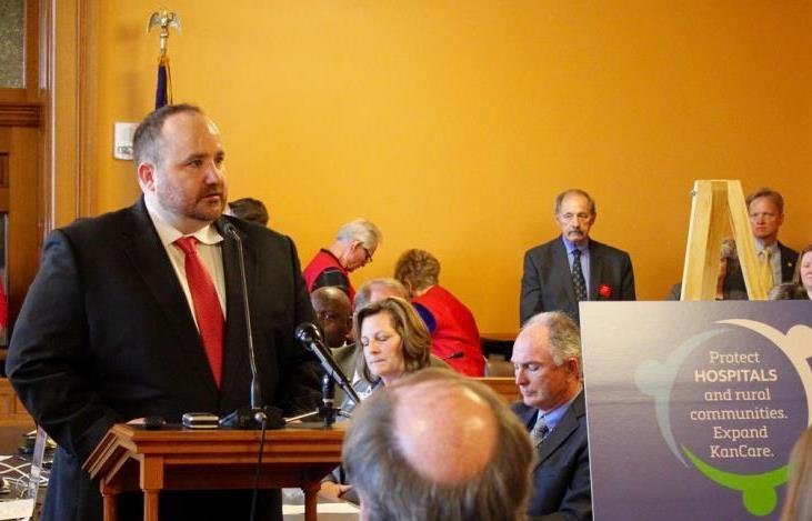David Jordan, director of the Alliance for a Healthy Kansas, sees promise in election results this week in Maine and Virginia. (Photo Credit: Kansas News Service.)