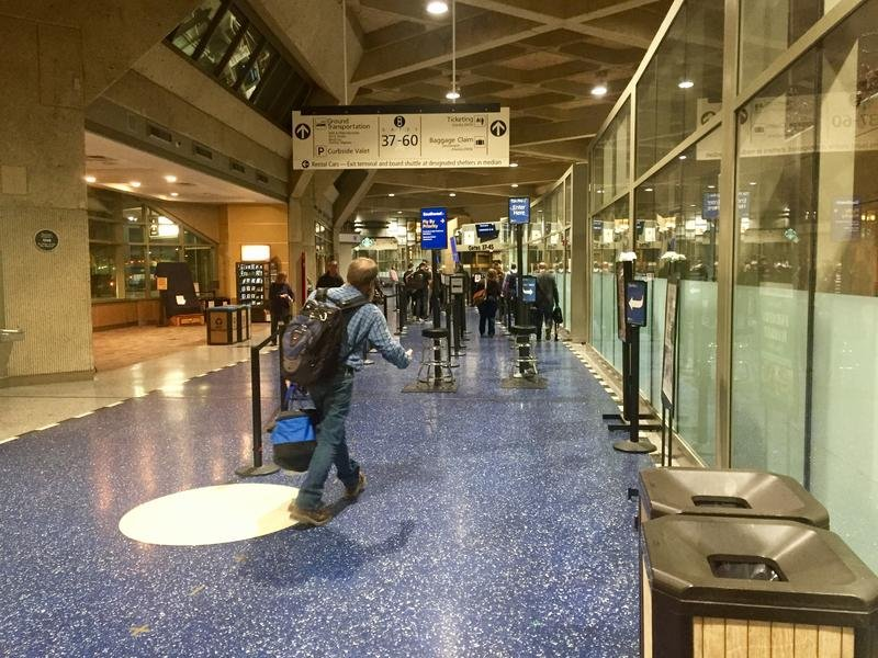 On Tuesday, voters in Kansas City, Missouri will decide the fate of the city's 45-year-old airport. (Photo by Lisa Rodriguez / Kansas News Service)