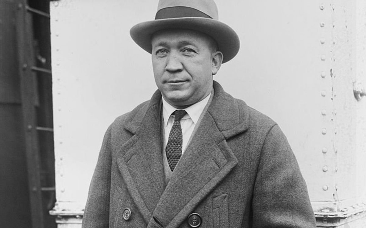 Knute Rockne, Notre Dame's legendary football coach, died in a plane crash in the Kansas Flint Hills on March 31, 1931.