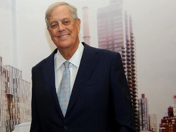 David Koch (Photo by: Diane Bondareff / Invision for Koch Industries)