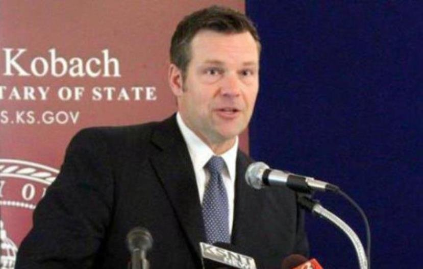 Kansas Secretary of State Kris Kobach is defending Kansas' strict voter registration laws in federal court in a trial that is now in its second week. (File Photo: Kansas News Service)