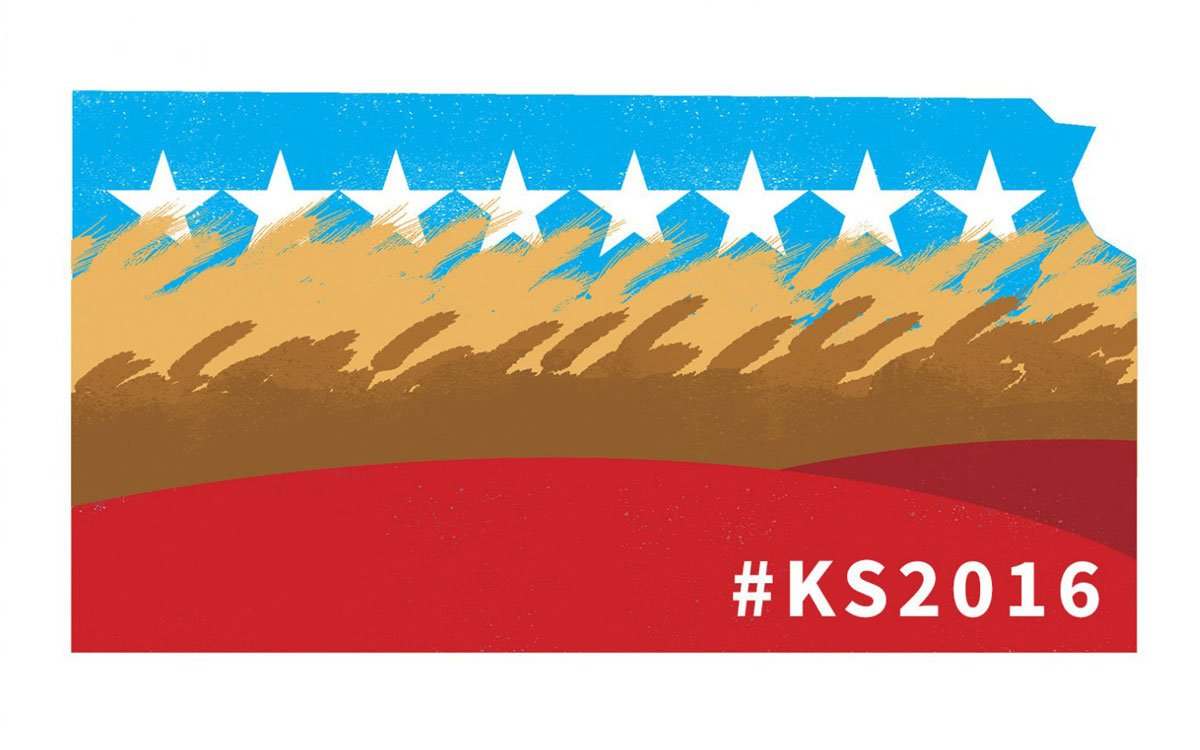 Who's the moderate? Kansas Republicans and Democrats battle to embrace the moderate mantle.  #KS2016