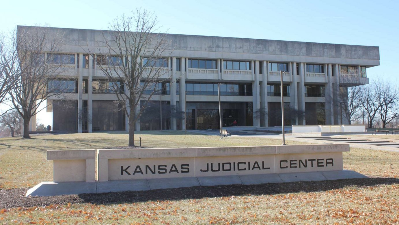 The Kansas Judicial Center is home to the Kansas Supreme Court.  (Photo by J. Schafer)