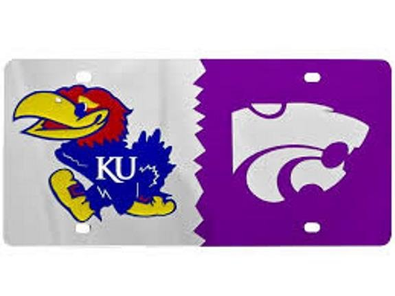 A layup as the buzzer sounded gave No. 3 Kansas a 90-88 win over Kansas State on Tuesday night.