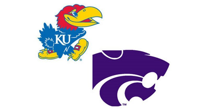 The Kansas Jayhawks will face intrastate rivals the K-State Wildcats. Tip-off is at 6:00 this (FRI) evening.