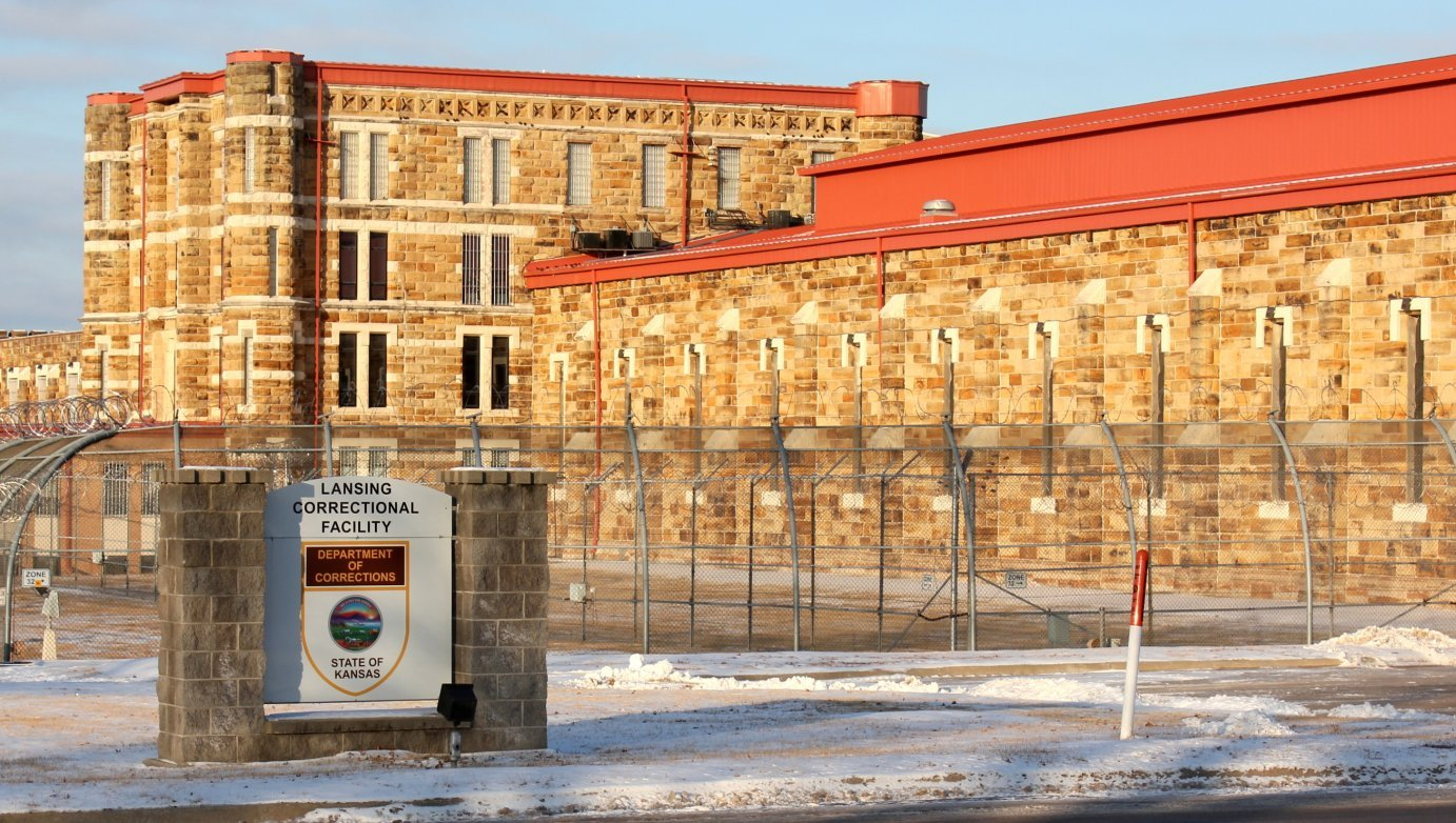 A new prison has been proposed to replace this existing prison in Lansing.  (Photo by Stephen Koranda)