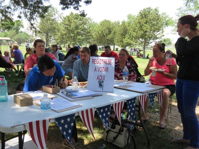 Democratic activists are working to organize Latino voters in western Kansas.