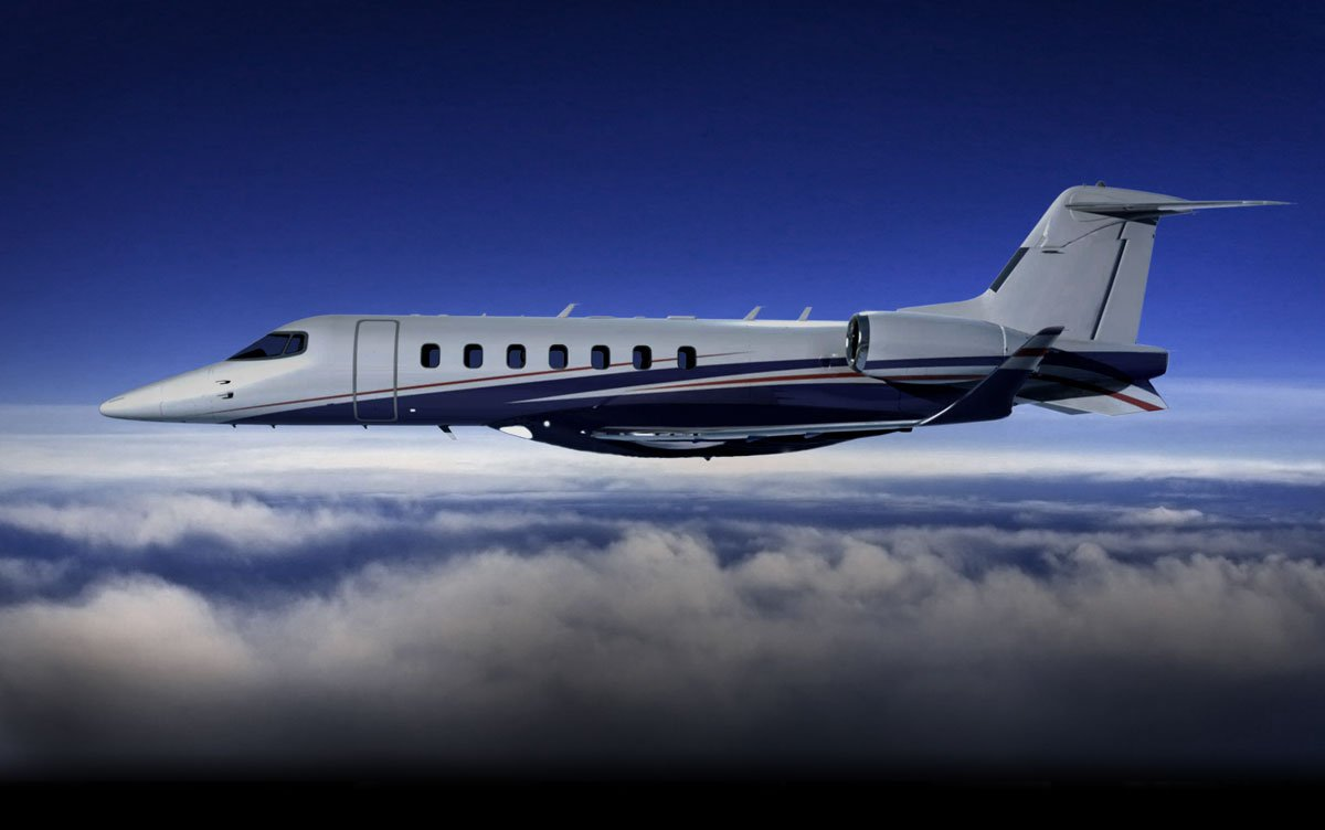 This is the Learjet 85, made by Bombardier Aerospace.