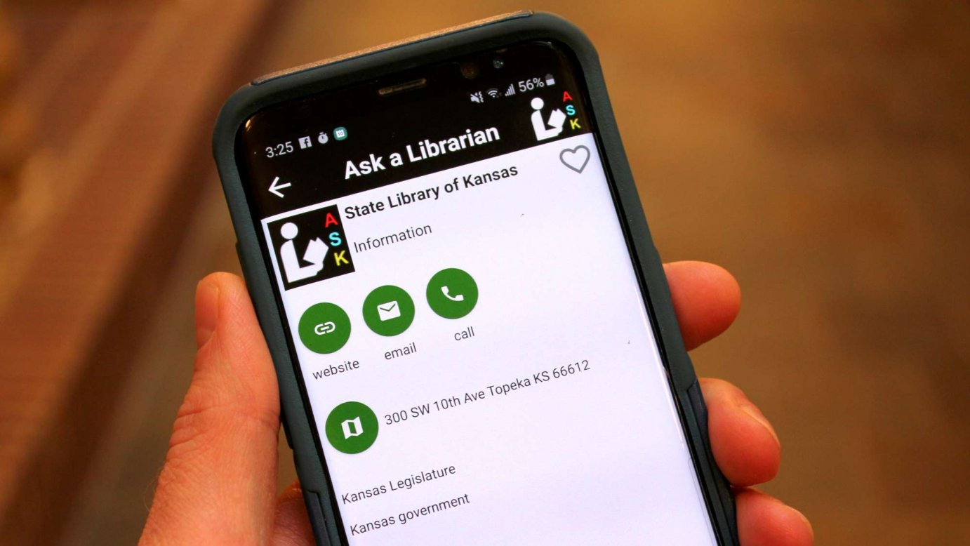 An app can help Kansans answer questions about the Legislature. (Photo by Stephen Koranda)