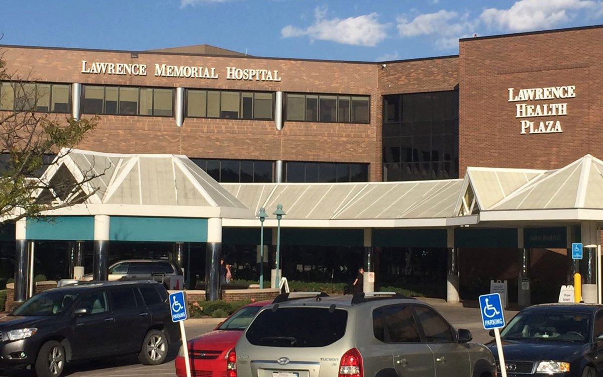 LMH Health, formerly Lawrence Memorial Hospital, is a not-for-profit community hospital that's served Lawrence and the surrounding area for nearly a century.  (Photo by J. Schafer)