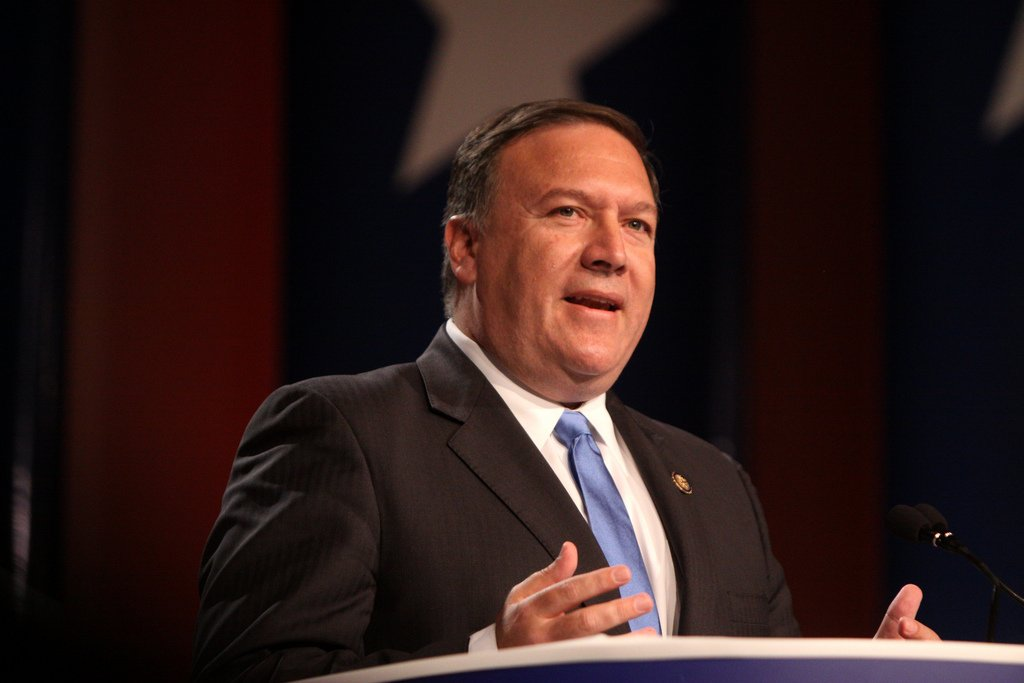 Kansas 4th District Congressman Mike Pompeo, a Wichita Republican, has been selected by PEOTUS Donald Trump to lead the CIA.