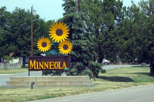 Minneola, located in Clark County, Kansas