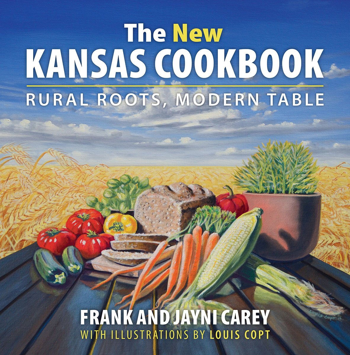 This new cookbook, by Frank and Jayni Carey, is all about eating fresh and local.