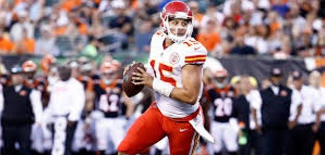 Kansas City Chiefs' rookie quarterback Patrick Mahomes will make his NFL debut when the Chiefs play the Denver Broncos on Sunday. (Photo Credit: chiefs.com)