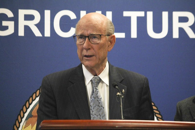 Kansas Republican Senator Pat Roberts is not running for reelection.  Plenty of people would like to take his place.  (Photo by Nomin Ujiyediin / Kansas News Service)