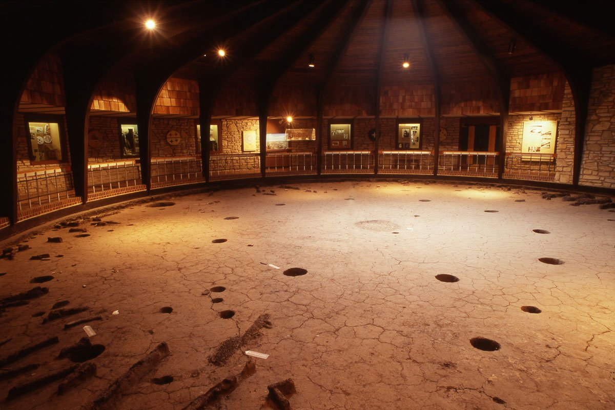 The Pawnee Indian Museum's interior in Republic, Kan. (Flickr Photo by Kansas Tourism)
