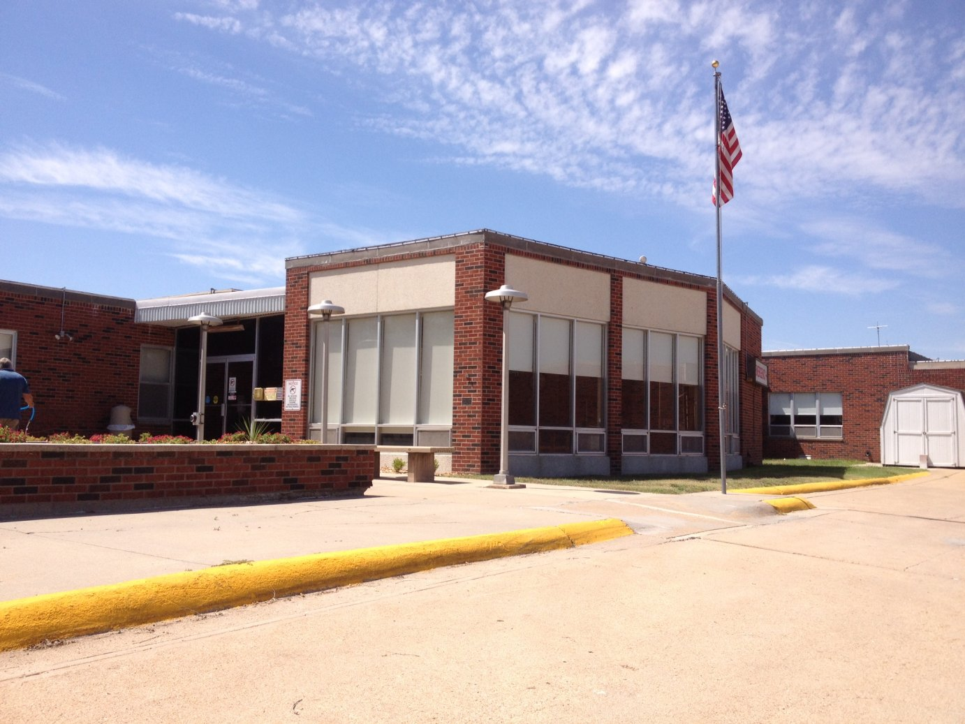 Phillips County Hospital, in Phillipsburg--one of 84 Critical Access Hospital in Kansas (photo by Bryan Thompson)