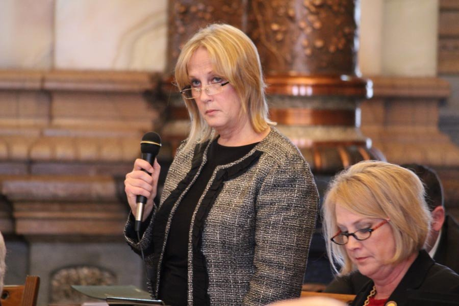 State Senator Mary Pilcher-Cook (R,Shawnee) (Photo by the KHI News Service)