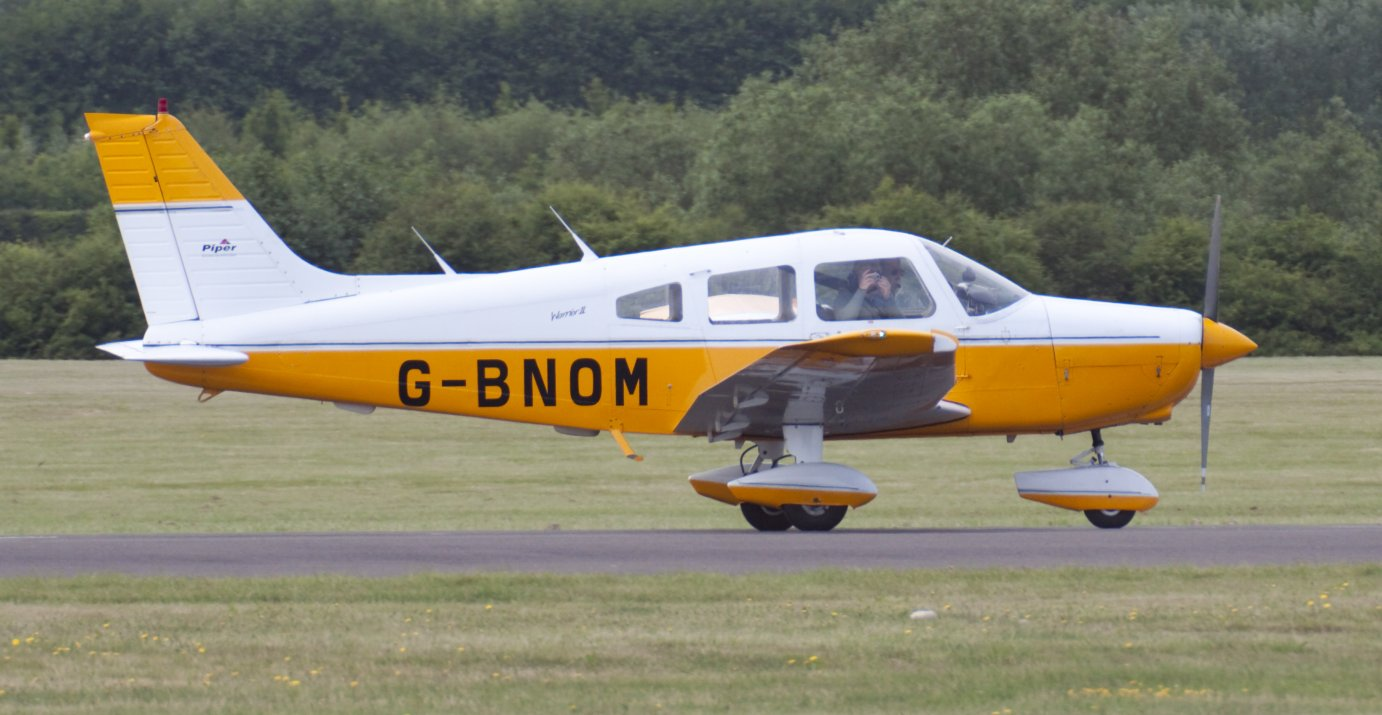 This Piper Cherokee Warrior II is similar to the plane that crashed in Missouri, killing a couple from Gardner, Kansas.