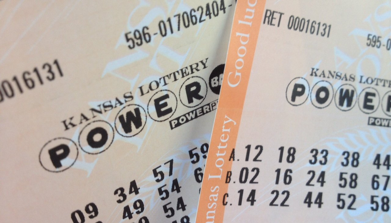 Powerball lottery tickets purchased in Kansas (Photo by J. Schafer)