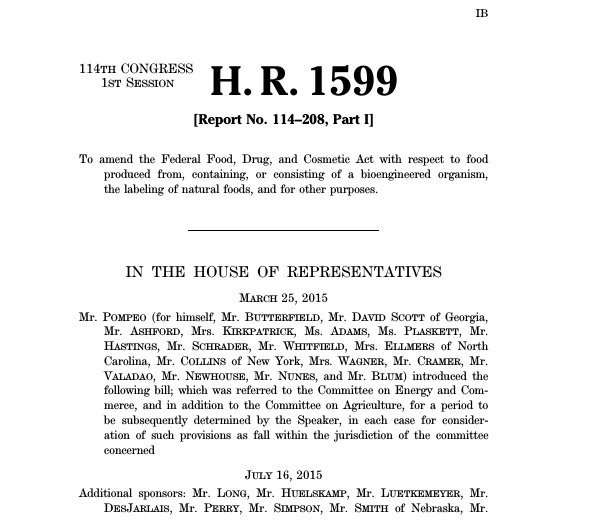 (Text of H.R. 1599 via www.govtrack.us)