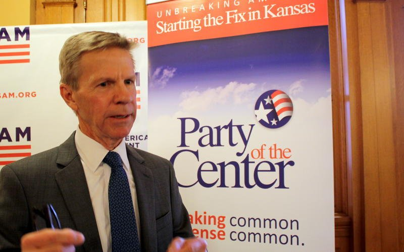Scott Morgan says an effort to win a centrist party ballot access will have to wait another election cycle. (file photo/Kansas News Service)