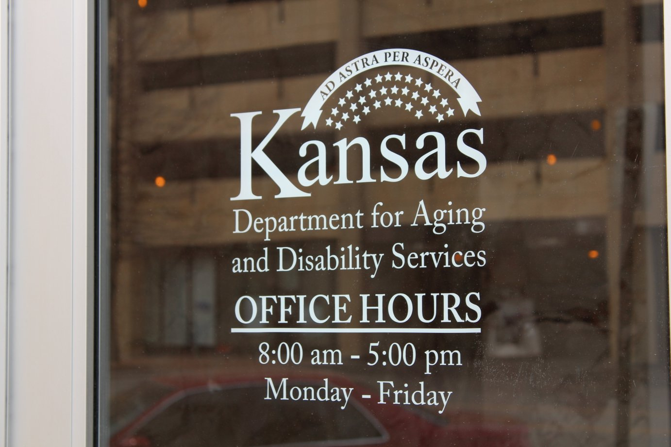 A KDADS official was briefly suspended after department officials discovered that he had been sexually harassing an employee.