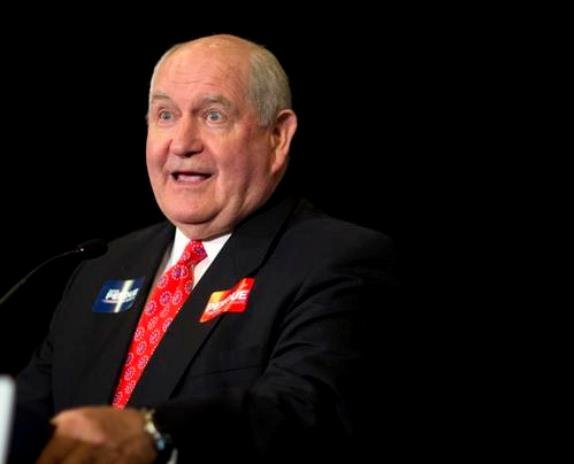 Former Georgia Governor Sonny Perdue will lead the Department of Agriculture. (Photo: David Goldman, Associated Press)