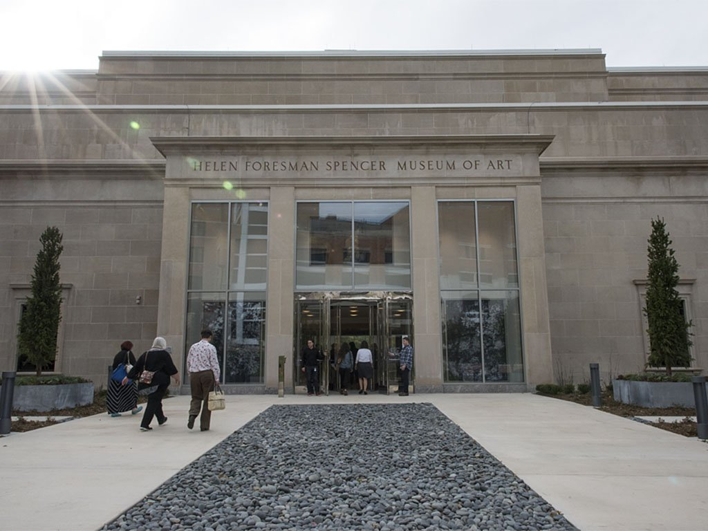 The Spencer Museum of Art on the campus of the University of Kansas in Lawrence  (Photo by Spencer Museum of Art)