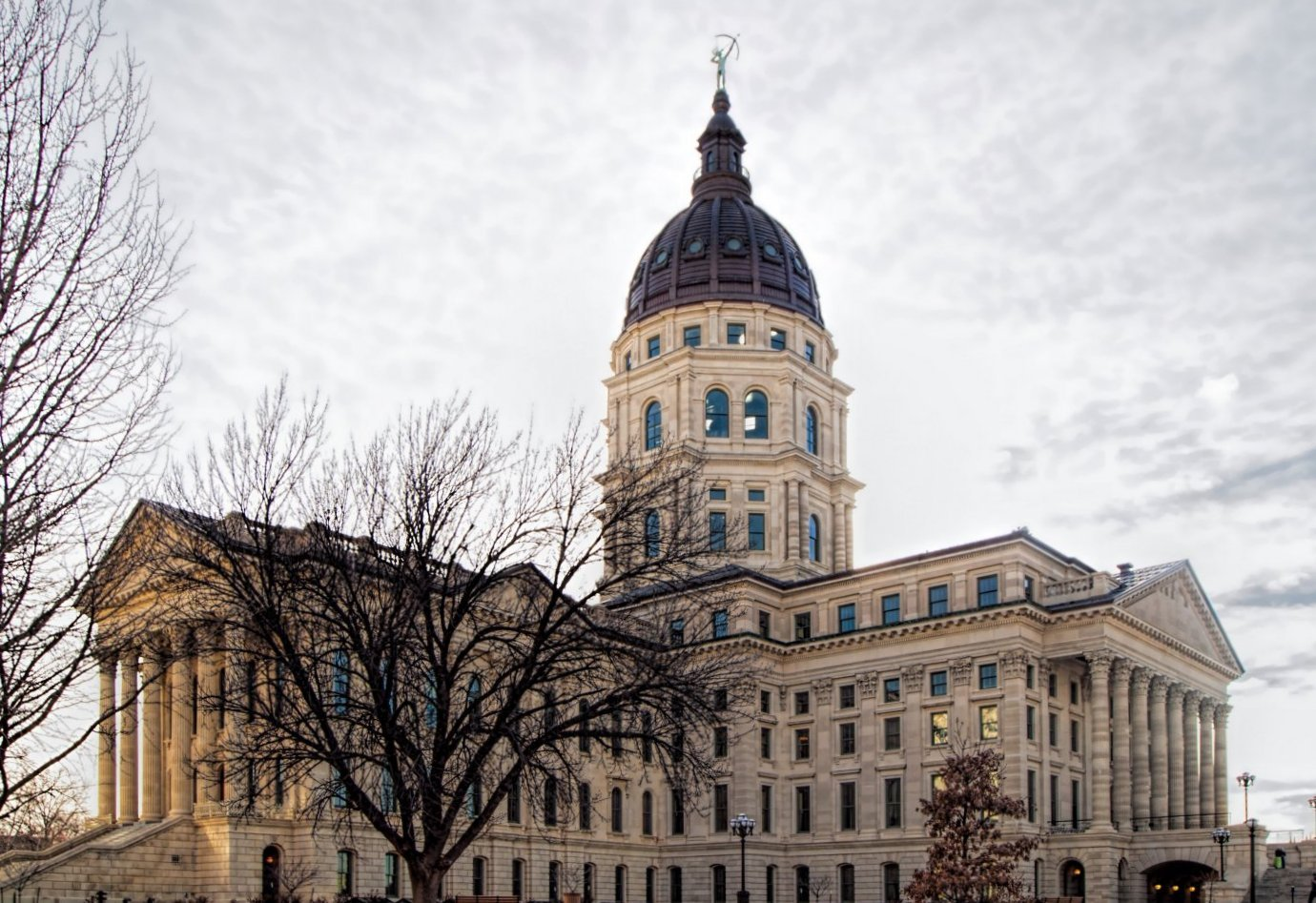 The Kansas Statehouse. (Photo by Dan Skinner)