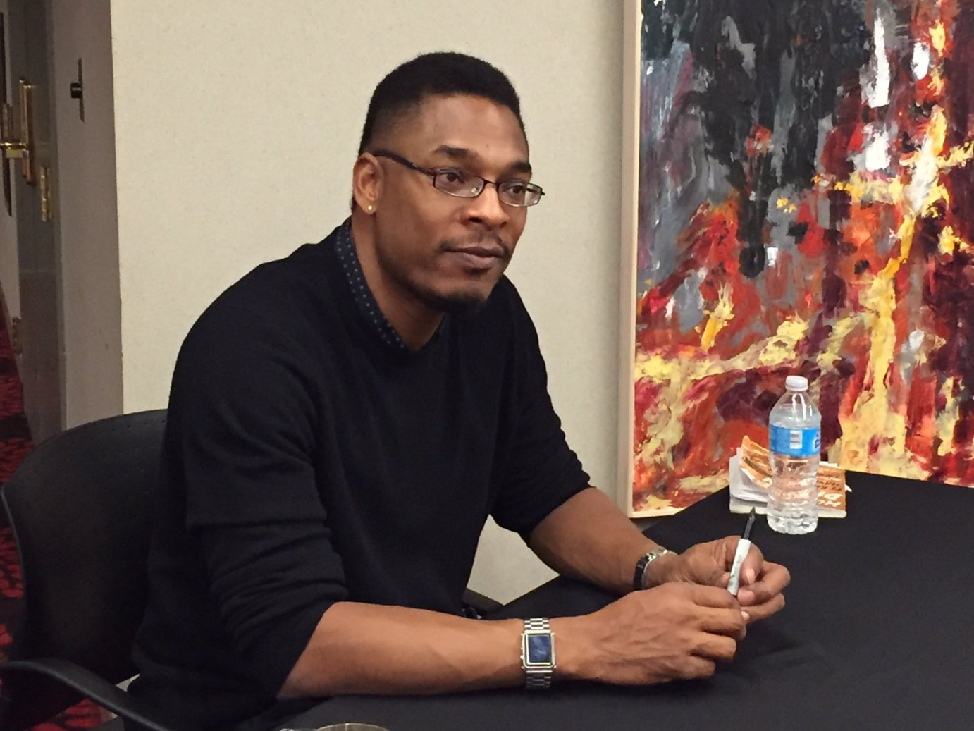 Photo of Terrance Hayes by Kaye McIntyre