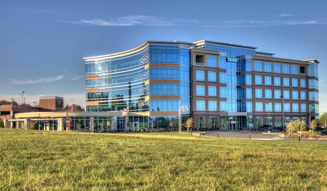 Teva office building in Overland Park (Photo by Block Real Estate Services)