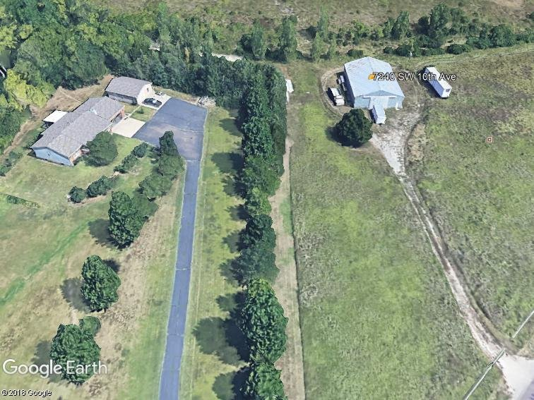 The Villages shelter, west of Topeka (image credit: Google Earth)