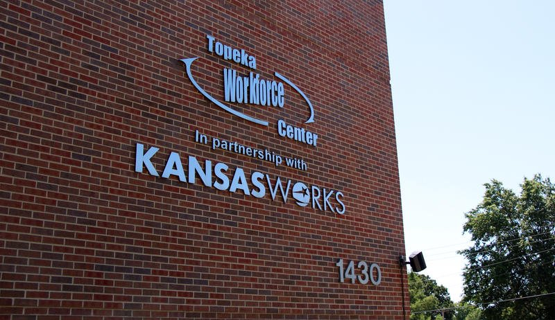 Services like KansasWorks rely on a division of the Kansas Department of Commerce to manage data. The division fell victim to a hack in March, affecting millions of people in 10 of the states that it serves. (Photo by Celia Llopis-Jepsen / Kansas News Service)