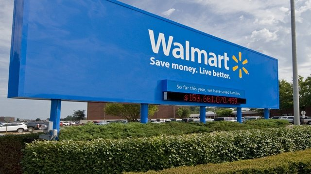 A typical Walmart store (Photo courtesy of Walmart)