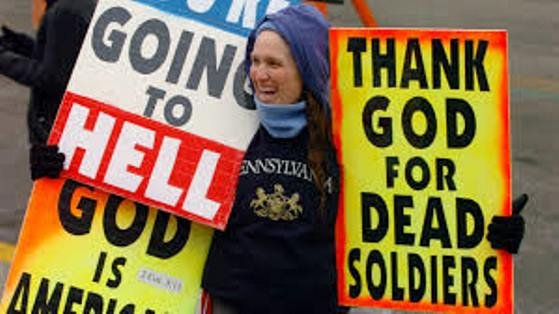 The ruling is seen as a setback for the Topeka-based Westboro Baptist Church which protests funerals using anti-gay signs and chants.