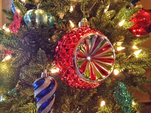 A holiday ornament on J. Schafer's Christmas Tree (Photo by Kris Kringle)