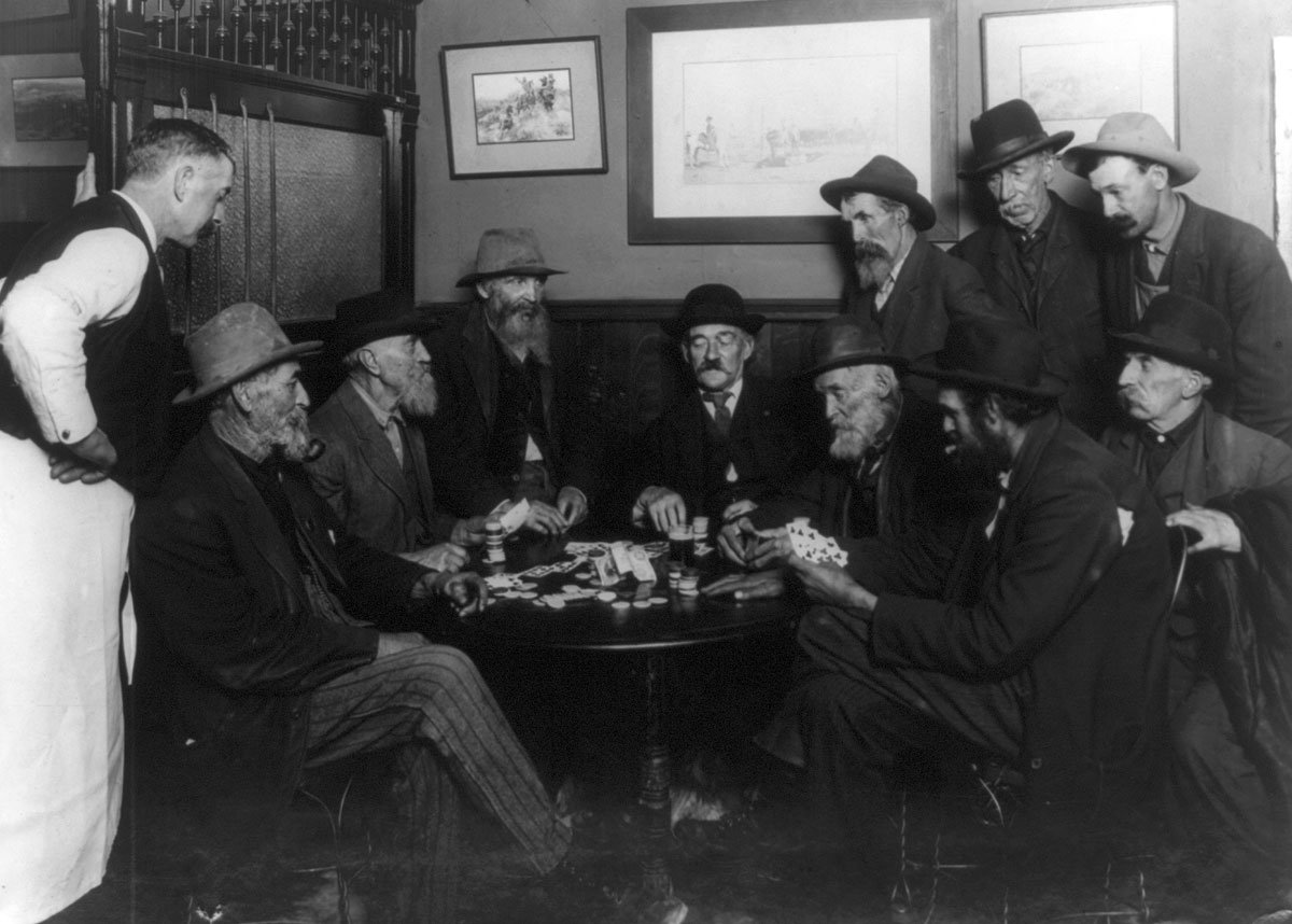 Still in the game...c. 1913. (Photo via Library of Congress)