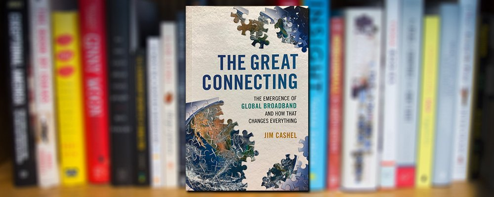 Cover art for the book, The Great Connecting