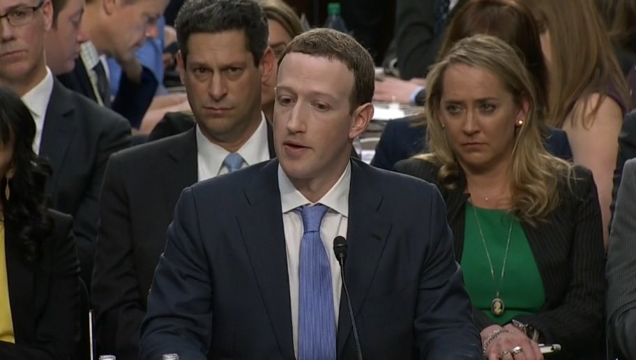Mark Zuckerberg testified in front of the Senate on Tuesday, April 11th. He answers questions again on Wednesday.