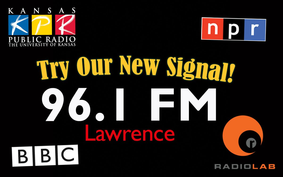 When you're in the Lawrence area, try our all News & Talk station, featuring KPR-2 programming, on FM 96.1 FM.