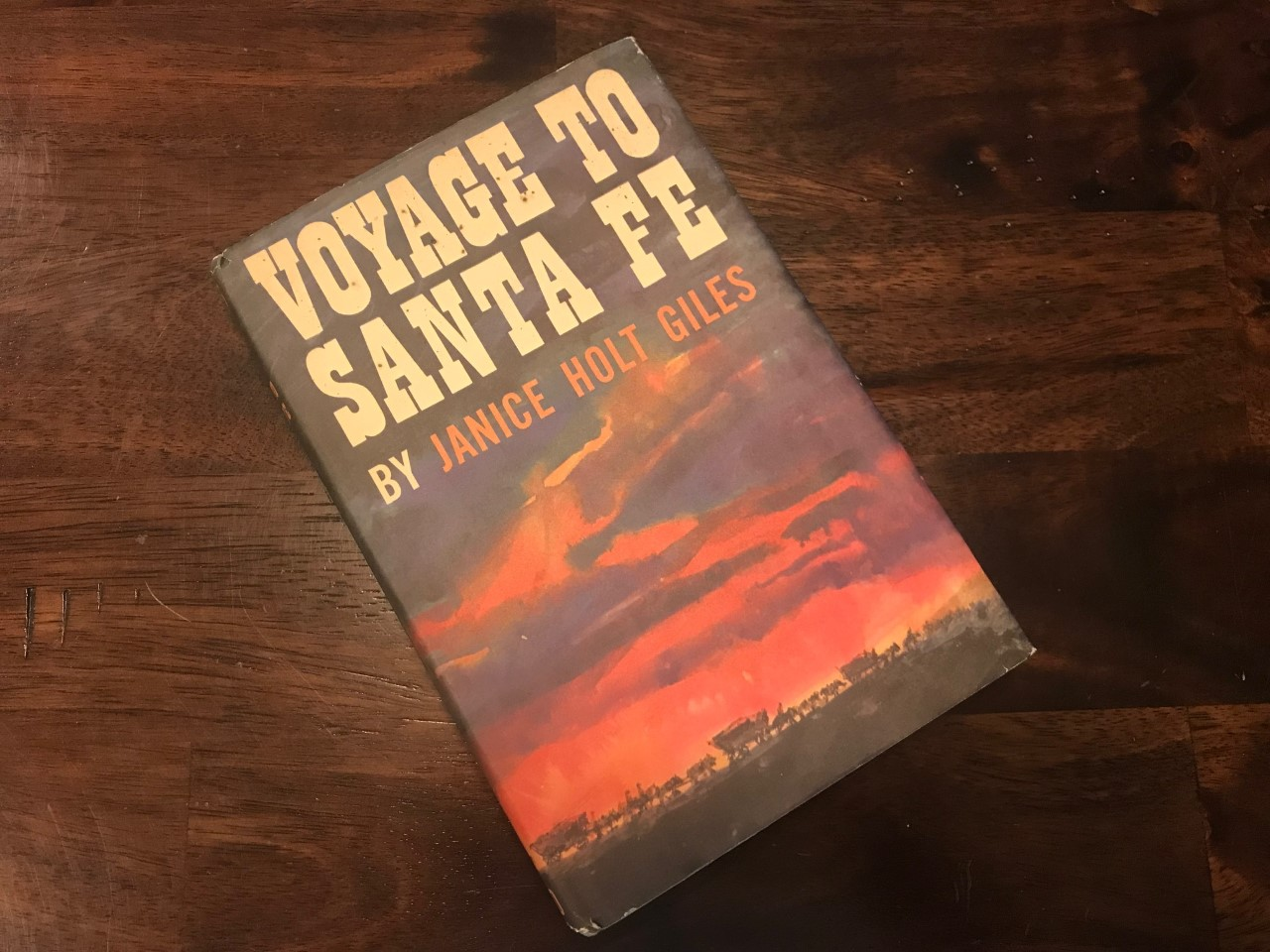 Voyage to Santa Fe is just one of the many books written about the famous trading trail. (Photo by J. Schafer)