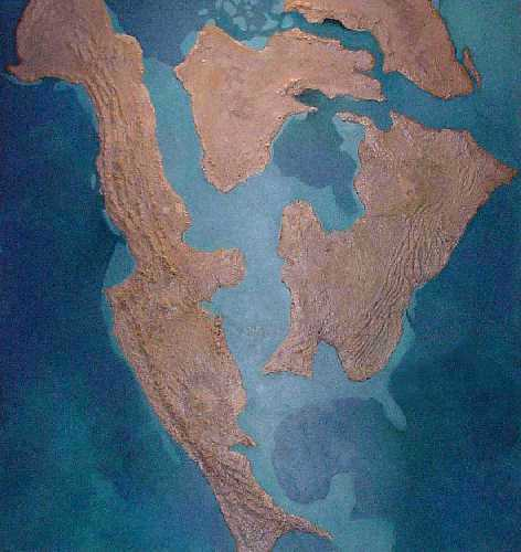 The Western Interior Sea, as imagined by researchers.