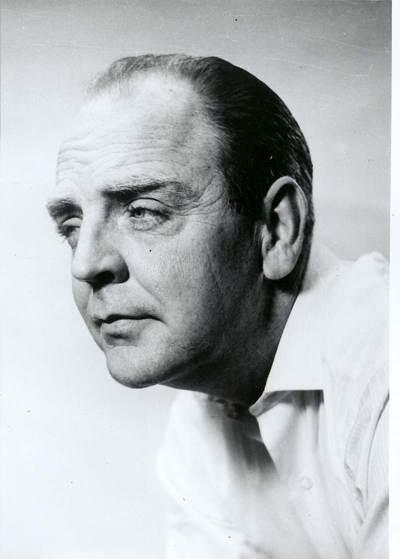 Playwright William Motter Inge (1953). Born in Independence, Kan., Inge graduated from the University of Kansas, worked for a Wichita radio station, and taught in both high school and college. Inge drew upon his Kansas background for the characters and storylines in his plays. (Photo Courtesy of Kansas Historical Society / kansasmemory.org)
